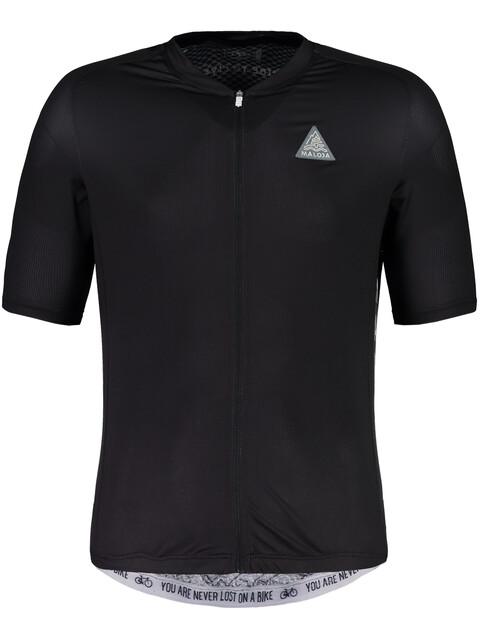 Maloja PlansM. Breeze Short Sleeve Bike Jersey Men moonless